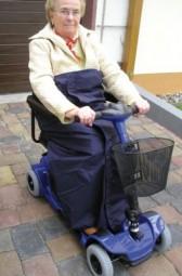 Rollstuhl-Wickeldecke Happy Colors