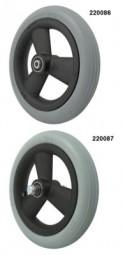 Rad mit PU-Reifen (mit Hohlspeichenfelge)