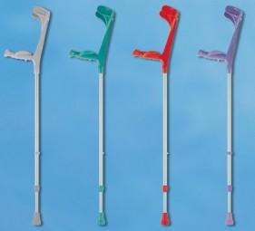 Kunststoff-Leichtmetall-Unterarmgehstütze Fashion Line, Ergo-Softgriff