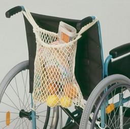 Rollstuhl-Einkaufsnetz