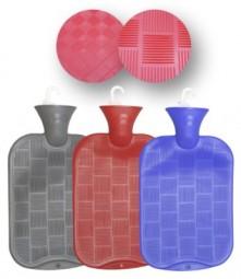 Wärmflasche Karo-Halblamelle