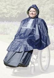 Regenponcho für Rollstuhl