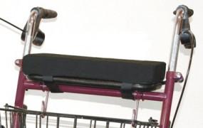 Rollatorkissen 38 x 16 cm, Höhe 5 cm