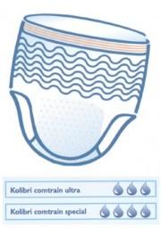 Einweghose Kolibri Comtrain (soft ultra, Gr. S)