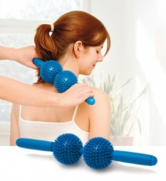 Massagegerät Spiky Twin Roller Sissel