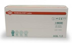 Latex-Handschuhe Nobaglove extragroß