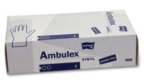 Vinyl-Handschuhe (L)