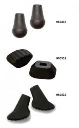 Gummipuffer für Nordic Walking Stöcke (Gummipad Twist&Go)
